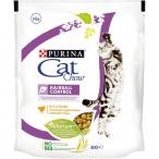Корм Cat Chow Hairball Control для кошек, для вывода шерсти из желудка, с домашней птицей, 400 г