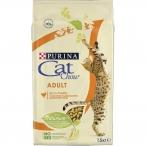 Корм Cat Chow Adult для взрослых кошек, с домашней птицей, 1.5 кг