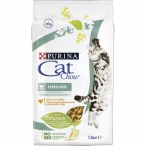 Корм Cat Chow Sterilised для стерилизованных кошек, с домашней птицей, 1.5 кг