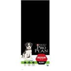 Корм Pro Plan Puppy Medium для щенков средних пород, с курицей, 12 кг