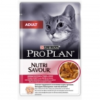 Корм Pro Plan Adult для кошек с уткой в соусе, 85 г