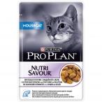 Корм Pro Plan Housecat для кошек живущих дома с индейкой в желе, 85 г