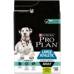 Корм PRO PLAN Large Athletic OPTI DIGEST (комплекс для поддержания здорового пищеварения) для собак крупных пород атлетического телосложения с чувствительным пищеварением, с ягненком, 3 кг
