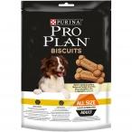Лакомство Pro Plan Biscuits с курицей и рисом для стерилизованных собак, 400 г