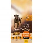 Корм PRO PLAN Duo Delice Medium & Large OPTI BALANCE (комплекс, учитывающий возраст и телосложение) для собак средних и крупных пород, с курицей, 10 кг