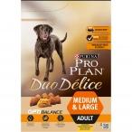 Корм PRO PLAN Duo Delice Medium & Large OPTI BALANCE (комплекс, учитывающий возраст и телосложение) для собак средних и крупных пород, с курицей, 2.5 кг