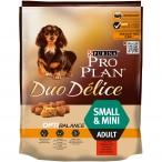 Корм PRO PLAN Duo Delice Small & Mini OPTI BALANCE (комплекс, учитывающий возраст и телосложение) для собак малых и миниатюрных пород, с говядиной, 700 г