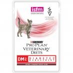 Корм Pro Plan Veterinary diets DM, для кошек при диабете с говядиной, 85 г