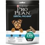 Лакомство PRO PLAN Dental Pro Bar SM для поддержания здоровья полости рта собак мелких и карликовых пород, 150 г