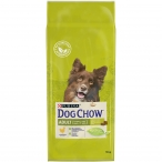 Корм Dog Chow Adult Chicken для взрослых собак с курицей, 14 кг