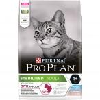 Корм PRO PLAN Sterilised OPTI SAVOUR (комплекс с высокой вкусовой привлекательностью) для стерилизованных кошек, с треской и форелью, 1.5 кг