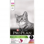 Корм PRO PLAN Sterilised OPTI SAVOUR (комплекс с высокой вкусовой привлекательностью) для стерилизованных кошек, с уткой и печенью, 10 кг
