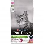 Корм PRO PLAN Sterilised OPTI SAVOUR (комплекс с высокой вкусовой привлекательностью) для стерилизованных кошек, с уткой и печенью, 1.5 кг