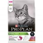 Корм PRO PLAN Sterilised OPTI SAVOUR (комплекс с высокой вкусовой привлекательностью) для стерилизованных кошек, с уткой и печенью, 3 кг