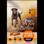 Корм PRO PLAN Duo Delice Medium & Large OPTI BALANCE (комплекс, учитывающий возраст и телосложение) для собак средних и крупных пород, с лососем, 2.5 кг