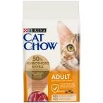 Корм Cat Chow Adult для взрослых кошек, с уткой, 15 кг