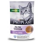 Корм PRO PLAN Sterilised (паштет) для стерилизованных кошек старше 7 лет, с индейкой, 85 г