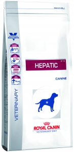 Корм Royal Canin Hepatic HF 16 для собак при лечении печени, 6 кг