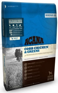 Корм для собак Acana COBB CHICKEN & GREENS, 17 кг