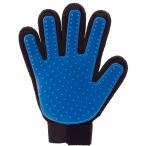 Перчатка для вычесывания шерсти с домашних животных
