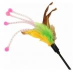 Игрушка-дразнилка с перьями, 50 см