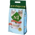 N1 Силикагелевый наполнитель (Crystals), 12,5л: Синий, 5 кг