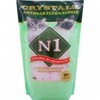 N1 Силикагелевый антибактер. наполнитель 5л: Зеленый, 2 кг