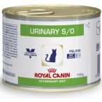 Корм Royal Canin Urinary S/O feline canned, 195 г