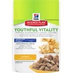 Корм Hill's Science Plan Youthful Vitality аппетитные кусочки в соусе для кошек старше 7 лет курица 10980, 85 г