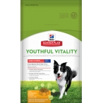 Корм Hill's Science Plan Youthful Vitality для собак средних пород старше 7 лет для борьбы с возрастными изменениями с курицей и рисом 10989, 10 кг