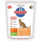 Корм Hill's Science Plan Optimal Care для кошек от 1 до 6 лет с кроликом 5203, 400 г