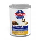 Корм Hill's Science Plan Active Longevity консервыдля собак старше 7 лет курица 8055, 370 г