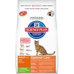 Корм Hill's Science Plan Optimal Care для кошек от 1 до 6 лет с кроликом 8739, 2 кг