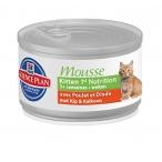 Корм Hill's Мусс для котят с курицей (Feline Kitten 1st Nutrition Mousse) 2387XR, 0,085 кг