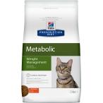Корм Hill's Prescription Diet Metabolic Weight Management для кошек диета для достижения и поддержания оптимального веса с курицей 2147, 1.5 кг
