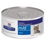 Корм Hill's Prescription Diet m/d Diabetes/Weight Management консервы для кошек для поддержания здоровья при сахарном диабете 4281, 156 г