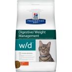 Корм Hill's Prescription Diet w/d Digestive/Weight Management для кошек для оптимального веса и здоровья при сахарном диабете курица 4328, 5 кг