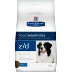 Корм Hill's Prescription Diet z/d Food Sensitivities для собак диета для поддержания здоровья кожи и при пищевой аллергии 5341, 10 кг