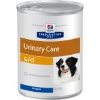 Корм Hill's Prescription Diet s/d Urinary Care консервы для собак диета для поддержания здоровья мочевыводящих путей 8015, 370 г
