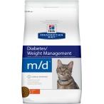 Корм Hill's Prescription Diet m/d Diabetes/Weight Management для кошек диета для поддержания здоровья при сахарном диабете курица 8685, 1.5 кг