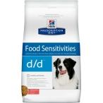 Корм Hill's Prescription Diet d/d Food Sensitivities для собак диета для поддержания здоровья кожи и при пищевой аллергии лосось и рис 9178, 12 кг