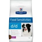 Корм Hill's Prescription Diet d/d Food Sensitivities для собак для поддержания здоровья кожи и при пищевой аллергии утка и рис 9179, 12 кг