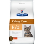 Корм Hill's Prescription Diet k/d Kidney Care для кошек диета для поддержания здоровья почек с курицей 9186, 1.5 кг