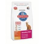 Корм Hill's Feline Adult Sensitive Skin Chicken (1.5 кг) для кошек с чувствительной кожей: индейка и курица (Sensitive Skin) 7617EA, 1,5 кг