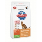 Корм Hill's Feline Adult Optimal Care with Rabbit для взрослых кошек с кроликом 5151M, 10 кг