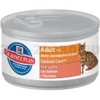 Корм Hill's Science Plan Optimal Care консервы для кошек от 1 до 6 лет с лососем 10802, 82 г