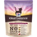 Корм Hill's Ideal Balance No Grain натуральный беззерновой корм для кошек от 1 года до 6 лет с курицей и картофелем 10722, 300 г