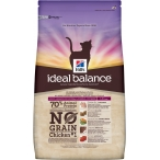 Корм Hill's Ideal Balance No Grain натуральный беззерновой корм для кошек от 1 года до 6 лет с курицей и картофелем 10723, 2 кг
