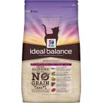 Корм Hill's Ideal Balance No Grain натуральный беззерновой корм для кошек от 1 года до 7 лет с тунцом и картофелем 10726, 2 кг