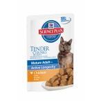 Корм Hill's Паучи для пожилых кошек с курой (SP Feline MA7+ Chicken) 2111PA, 0,085 кг